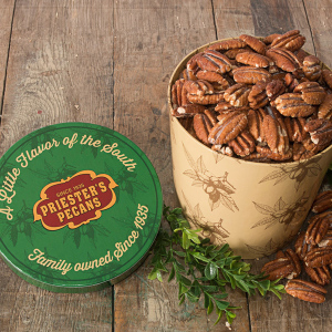 Priester's Signature Gift Tub - Roasted & Salted Pecan Halves