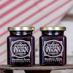 San Saba River Blackberry Pecan Preserves