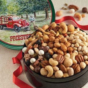 Snack Mix and Assorted Nuts Gift Tin