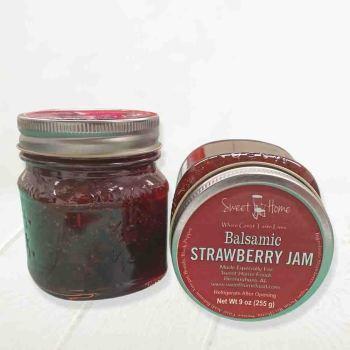 Sweet Home Balsamic Strawberry Jam