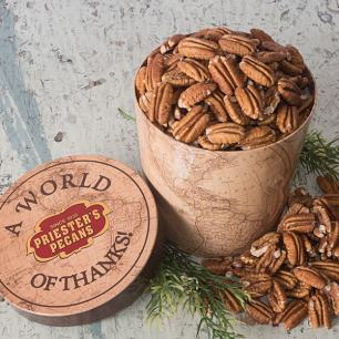 World of Thanks Tub - Natural Pecan Halves - Natural Pecan Halves
