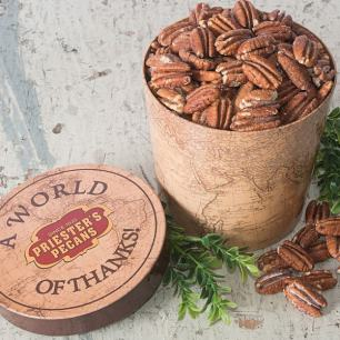 World of Thanks Gift Tub - Roasted & Salted Pecan Halves