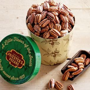 Priester's Signature Gift Tub - Roasted & Salted Pecan Halves - Roasted & Salted Pecan Halves