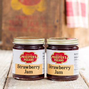 Red Ripe Strawberry Jam