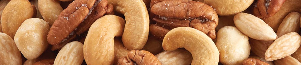 Cashews, Macadamias, Pistachios, Walnuts & Peanuts