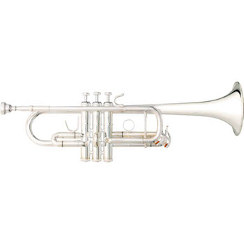 "B&S ""Challenger II"" Professional C Trumpet - Reverse Leadpipe - Silver Plating"