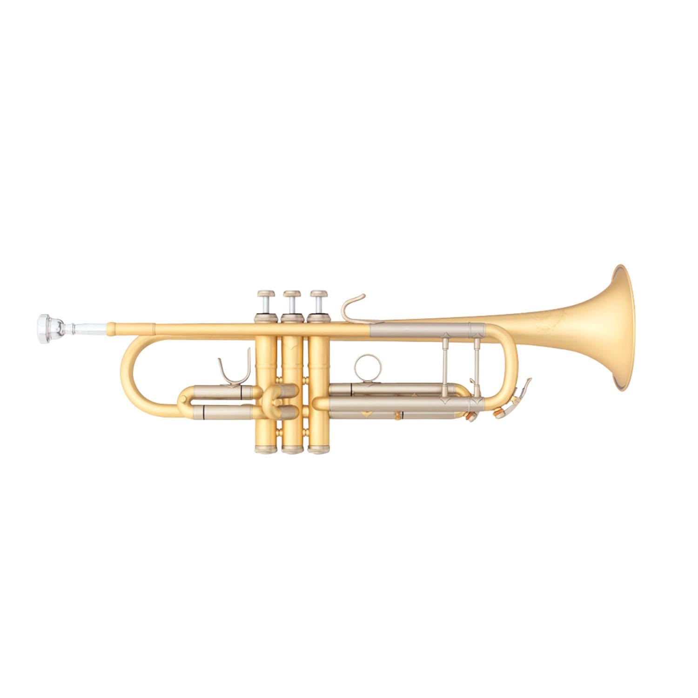"B&S ""Custom Challenger II"" Professional Bb Trumpet - #72 Bell - Elaboration Finish"