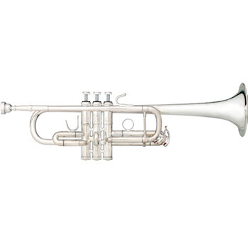 "B&S ""eXquisite"" Professional C Trumpet - Silver Plating"