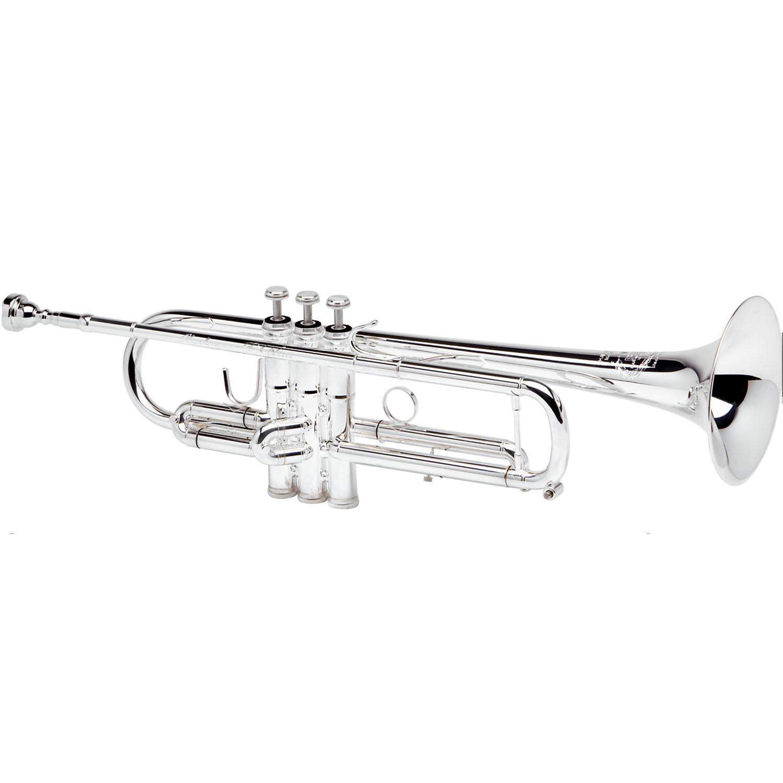 """B&S """"X-Series"""" Professional Trumpet - Chris Jades Model JBX - Silver Plating"""
