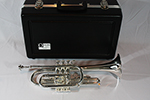 F.E.  Olds Student Cornet with Thumb Saddle, Silver Plated Finish - NA5MSU