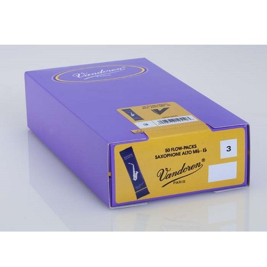 Vandoren Traditional Alto Saxophone Reeds - Box of 50