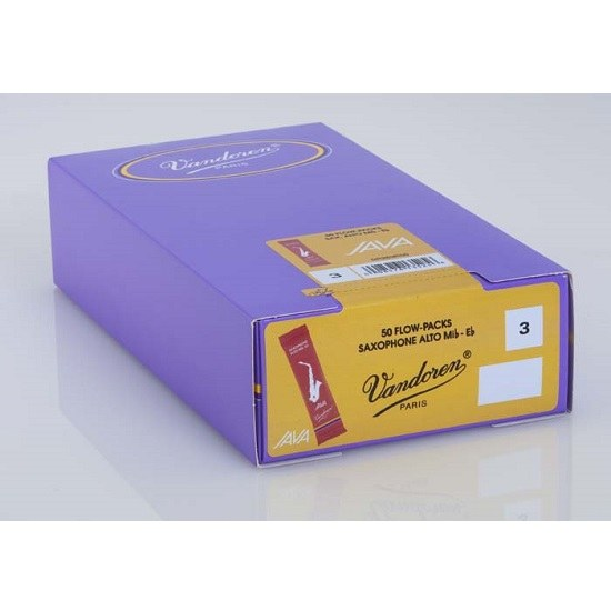 Vandoren Java Red Alto Saxophone Reeds - Box of 50