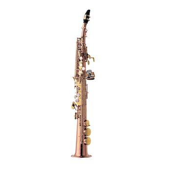 Yanagisawa SS992PG Soprano Saxophone - Pink Gold