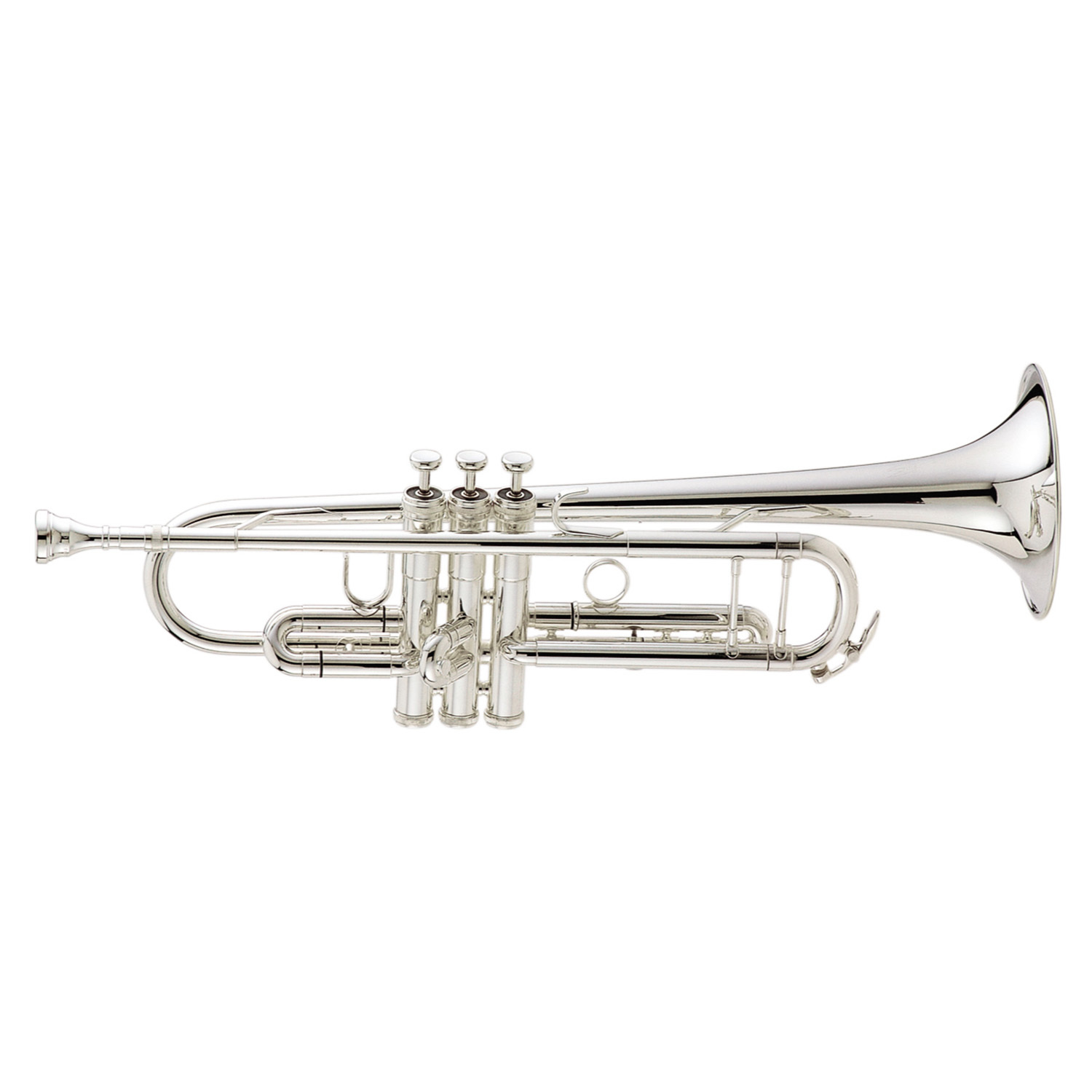 "King ""Ultimate"" Marching Trumpet - Silver-Plated"