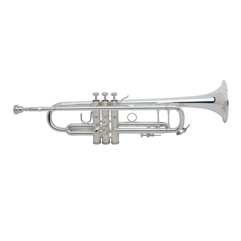 Bach Stradivarius 72 Bb Trumpet - Silver Plating