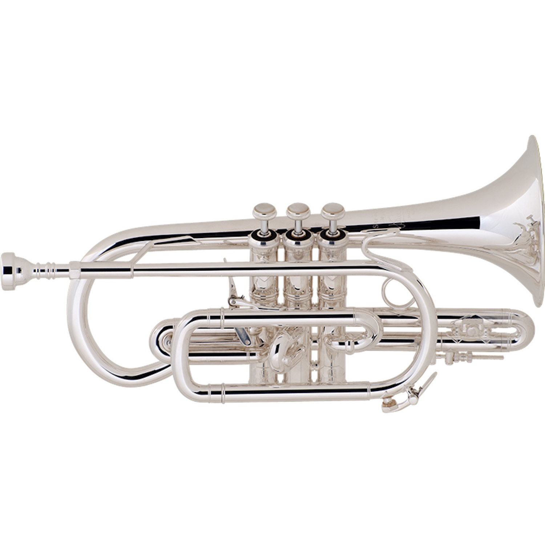 Bach Stradivarius Cornet - Silver Plated/Shepherd's Crook