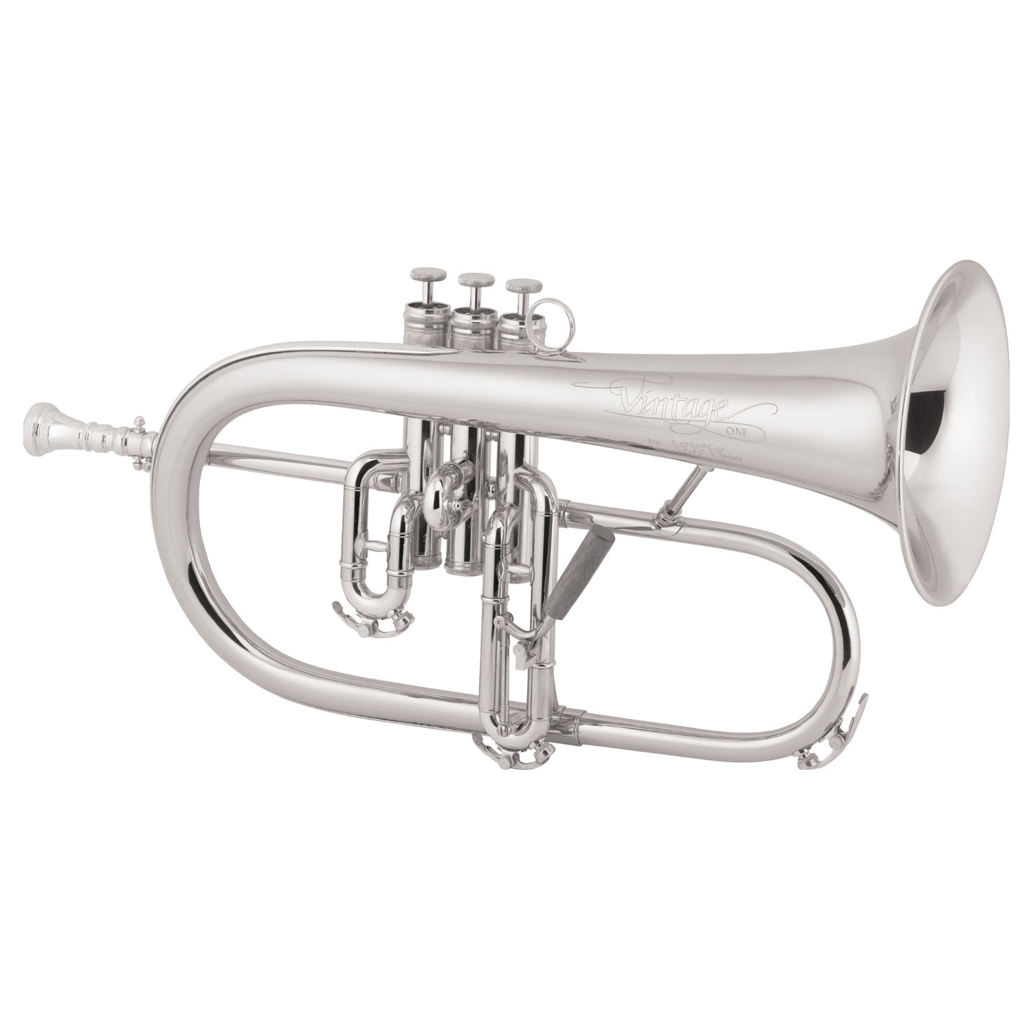 Conn Vintage One Flugelhorn [Bright Silver Finish]
