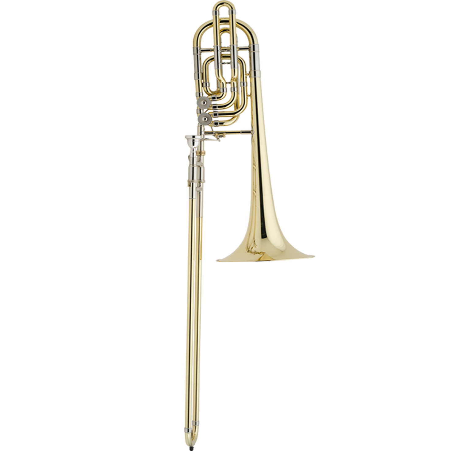 Bach Stradivarius 50B3 Bass Trombone - Independent Double Rotor System