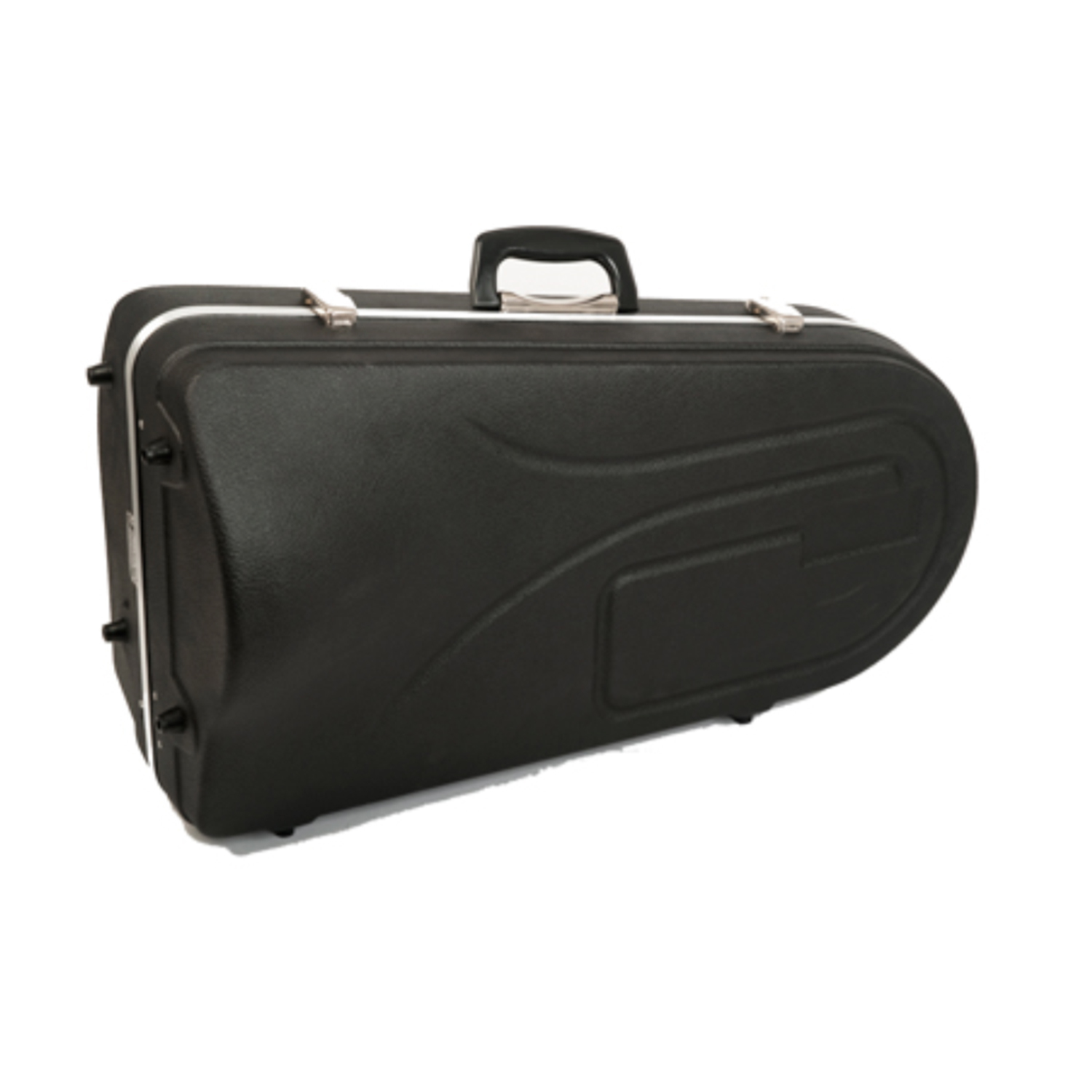 Hiscox Baritone Horn Case - Black Exterior with Blue Interior
