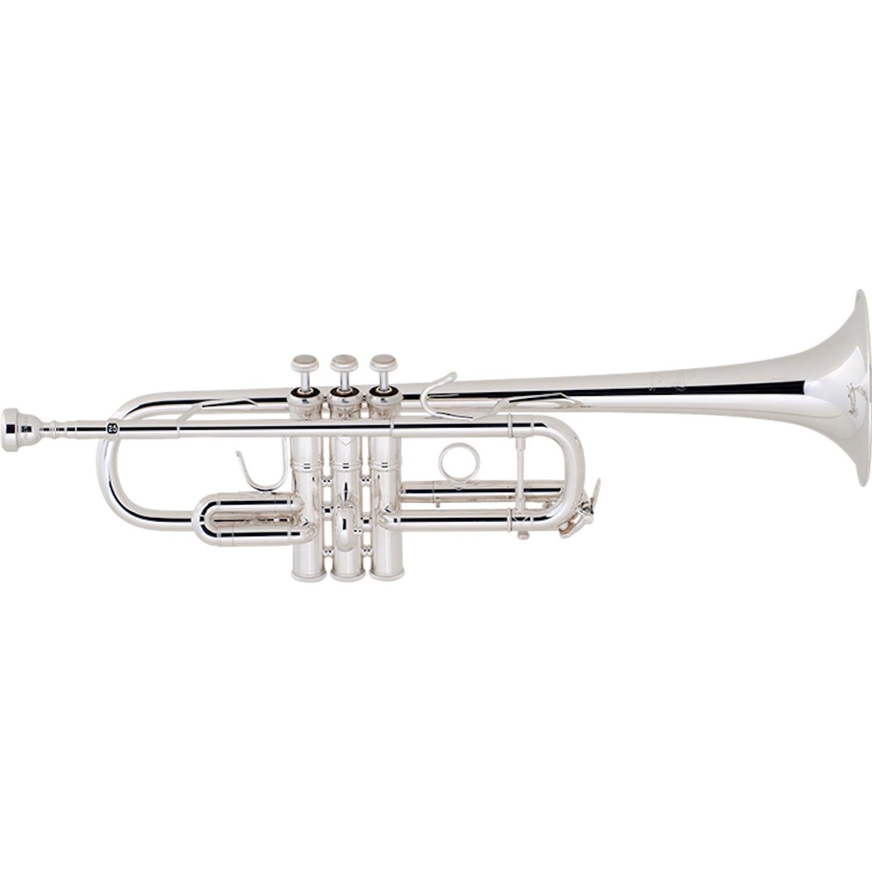 Bach Stradivarius C Trumpet - Silver Plating - $250 INSTANT REBATE (Shown in Cart)