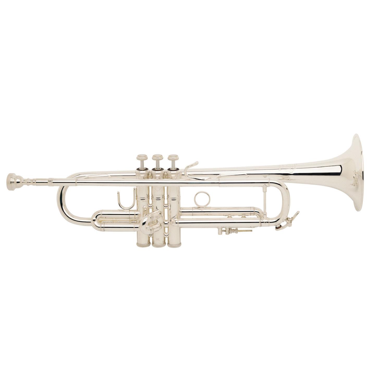 Bach Stradivarius 37 Bb Trumpet - Reverse Leadpipe/Silver Plating