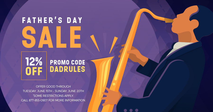 FATHER'S DAY SALE - 12% OFF