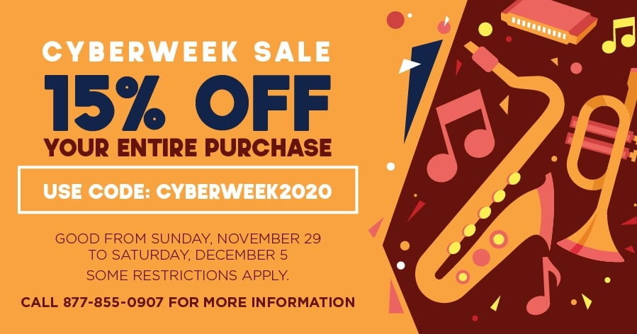 CYBERWEEK SALE - 15% OFF