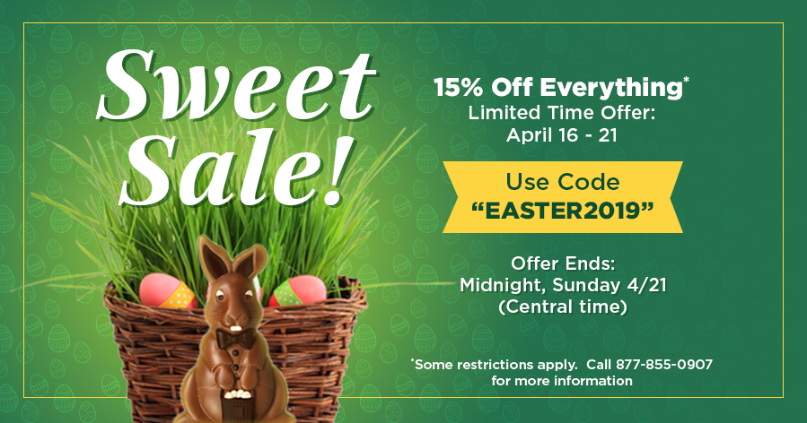 EASTER SALE - 15% OFF