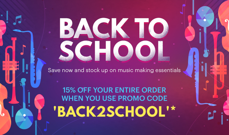 BACK TO SCHOOL SALE - 15% OFF