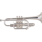 Bach Stradivarius Cornet - Silver Plate - $250 INSTANT REBATE (Shown in Cart)
