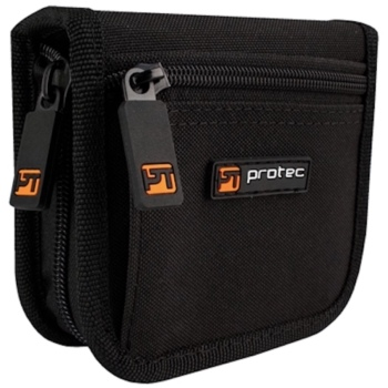 Pro Tec Nylon Trombone/Euphonium Mouthpiece Pouch - Hold 2 Mouthpieces