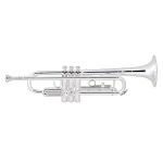 Bach Intermediate Bb Trumpet - Silver Finish