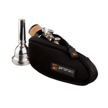 Pro Tec Neoprene Trombone/Euphonium/Clarinet/Alto Saxophone Mouthpiece Pouch - Multiple Colors!