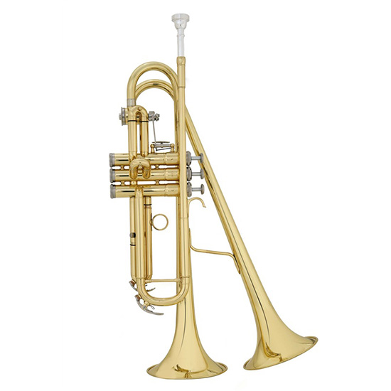 John Packer Twin Bell Trumpet
