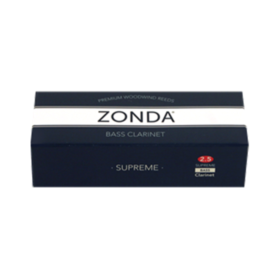 Zonda Supreme Bass Clarinet Reeds - Box of 5
