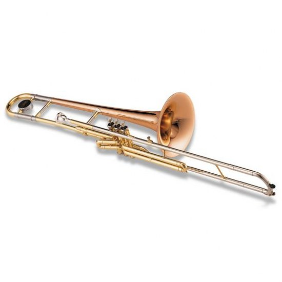 Jupiter Deluxe C Valve Trombone [Rose Brass Bell] - INSTANT REBATE SHOWN IN CART (PLUS GIFT CARD FOR SAME VALUE INCLUDED)
