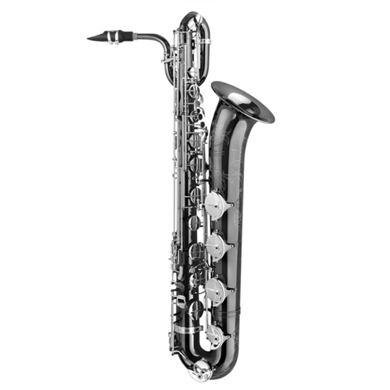 "P. Mauriat ""The Black Pearl"" Professional Baritone Saxophone"