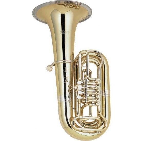 Cerveny 4/4 BBb Tuba - Nickel Silver Trim
