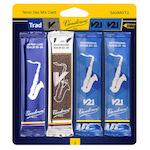 Vandoren Tenor Saxophone Mix Card - Includes Traditional, V12, V21 Reeds!