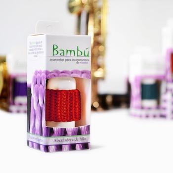 Bambu Braided Soprano Saxophone/Eb Clarinet Ligature - Multiple Colors!