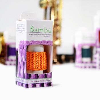 Bambu Braided Baritone Saxophone/Bass Clarinet Ligature - Multiple Colors!