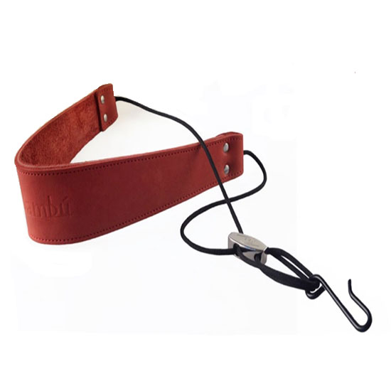 Bambu Double Leather Neck Strap for Soprano/Alto Saxophone - Multiple Colors!