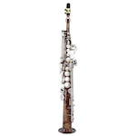 Keilwerth SX90 Dave Liebman Soprano Saxophone - Vintage Finish/Brushed Nickel Keys