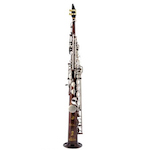 Keilwerth SX90 Dave Liebman SIGNATURE Soprano Saxophone - Vintage Finish/Brushed Nickel Keys