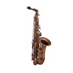 Keilwerth MKX Professional Alto Saxophone - Antique Brass Finish/Black Key Buttons