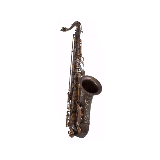 Keilwerth MKX Professional Tenor Saxophone - Antique Brass Finish/Black Key Buttons