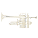 "B&S ""Challenger II"" Professional Bb/A Piccolo Trumpet"