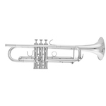 Besson Student Model Bb Trumpet - Silver Plating
