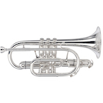 Besson Sovereign Professional Bb Cornet - Silver Plating