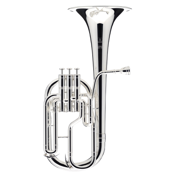 Besson Sovereign Tenor Horn - Silver Plating